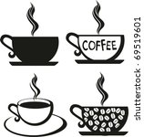 Coffee Set. The Stylised Cup O...