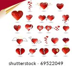 vector collection of various... | Shutterstock .eps vector #69522049