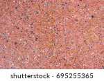 colorful mosaic flooring or... | Shutterstock . vector #695255365