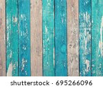 vintage wood background with...   Shutterstock . vector #695266096