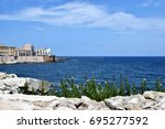 the nature of italy | Shutterstock . vector #695277592