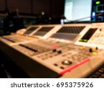blur image video switch of... | Shutterstock . vector #695375926