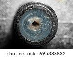 entrance to splitter for...   Shutterstock . vector #695388832