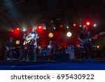 linlithgow  scotland 13th... | Shutterstock . vector #695430922