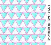 glass triangle pattern vector    Shutterstock .eps vector #695434276