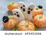 Healthy Fruit Halloween Treats...