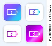 battery bright purple and blue...