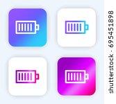 battery status bright purple...