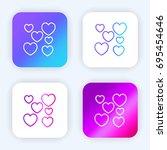love bright purple and blue...