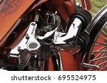 port dickson  malaysia 07... | Shutterstock . vector #695524975