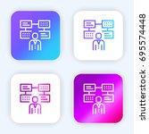 job search bright purple and...