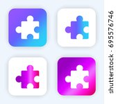 puzzle bright purple and blue...