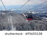 ropeway | Shutterstock . vector #695653138
