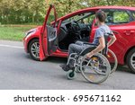 accessibility concept.... | Shutterstock . vector #695671162