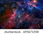 Image Of The Carina Nebula In...
