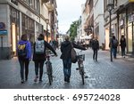 heidelberg germany   july 25... | Shutterstock . vector #695724028