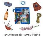 Scotland Souvenir Shop. Hand...