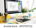 Graphic design studio logo