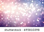 winter glitter holiday purple... | Shutterstock . vector #695810398