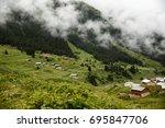 black sea rize elevit plateau... | Shutterstock . vector #695847706