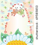 summer frame | Shutterstock . vector #69585853