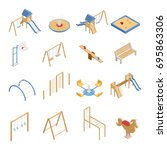 Children Playground Set Of...