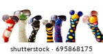 Colorful Fun Sock Puppets...
