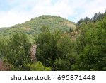 mountain landscape | Shutterstock . vector #695871448