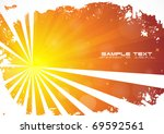 abstract gold background. clip... | Shutterstock .eps vector #69592561