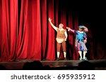 odessa  ukraine    june 06 ... | Shutterstock . vector #695935912
