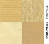 set of handmade paper textures | Shutterstock . vector #69594016