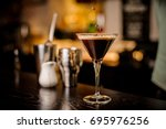 classy bartender garnish...
