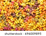 A Scattered Colored Pasta  Not...