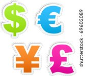 Currency Signs   Dollar  Euro ...