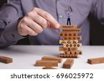 the concept of technology  the... | Shutterstock . vector #696025972