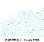 abstract vector background with ... | Shutterstock .eps vector #696095986