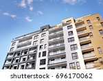 modern  luxury apartment...   Shutterstock . vector #696170062