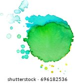 colorful abstract watercolor... | Shutterstock .eps vector #696182536