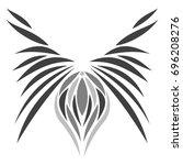 oriental pattern | Shutterstock .eps vector #696208276