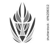 oriental pattern   Shutterstock .eps vector #696208312