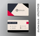 vector modern creative and... | Shutterstock .eps vector #696299458