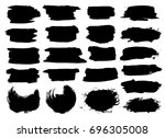 black highlight stripes ...   Shutterstock .eps vector #696305008