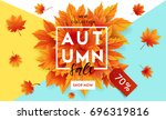 Autumn Sale Flyer Template Wit...