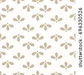 seamless background of flower... | Shutterstock .eps vector #696330526