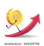 coins for the game interface.... | Shutterstock .eps vector #696339796