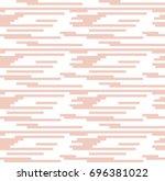 vector beige line pattern.... | Shutterstock .eps vector #696381022