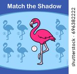 find the correct shadow ... | Shutterstock .eps vector #696382222