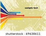 colored arrows vector | Shutterstock .eps vector #69638611