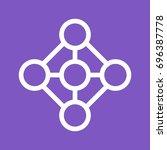 deep learning | Shutterstock .eps vector #696387778