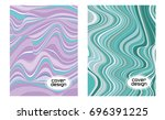 cover layouts collection with... | Shutterstock .eps vector #696391225